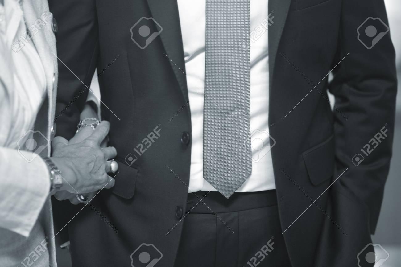 Wedding Guests In Dark Formal Weddings Business Suit And Linen ...