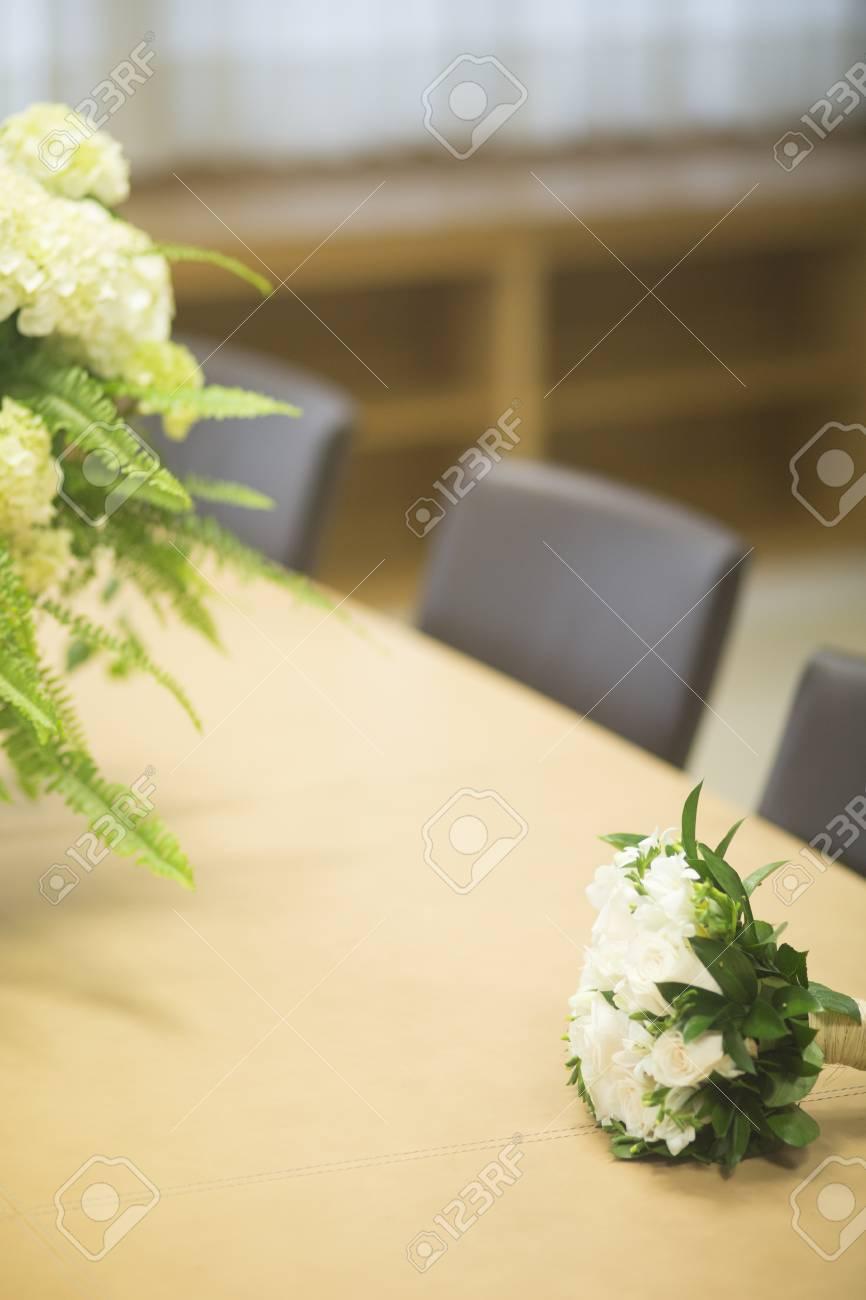 Civil Non Religious Wedding Ceremony Registry Office Bridal Bouquet ...