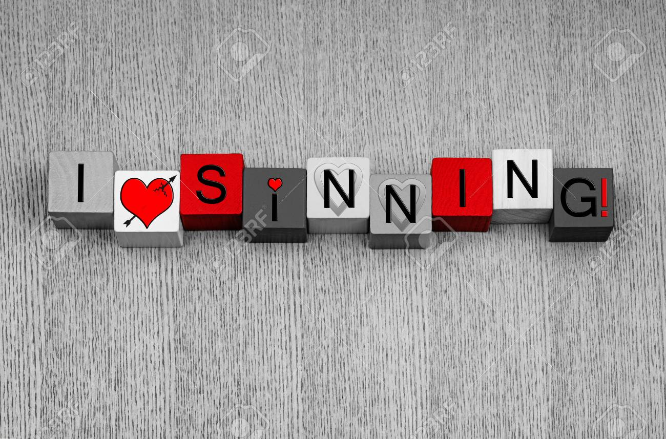 I Love Sinning Sign For Fun Lust Love Sex Valentines And
