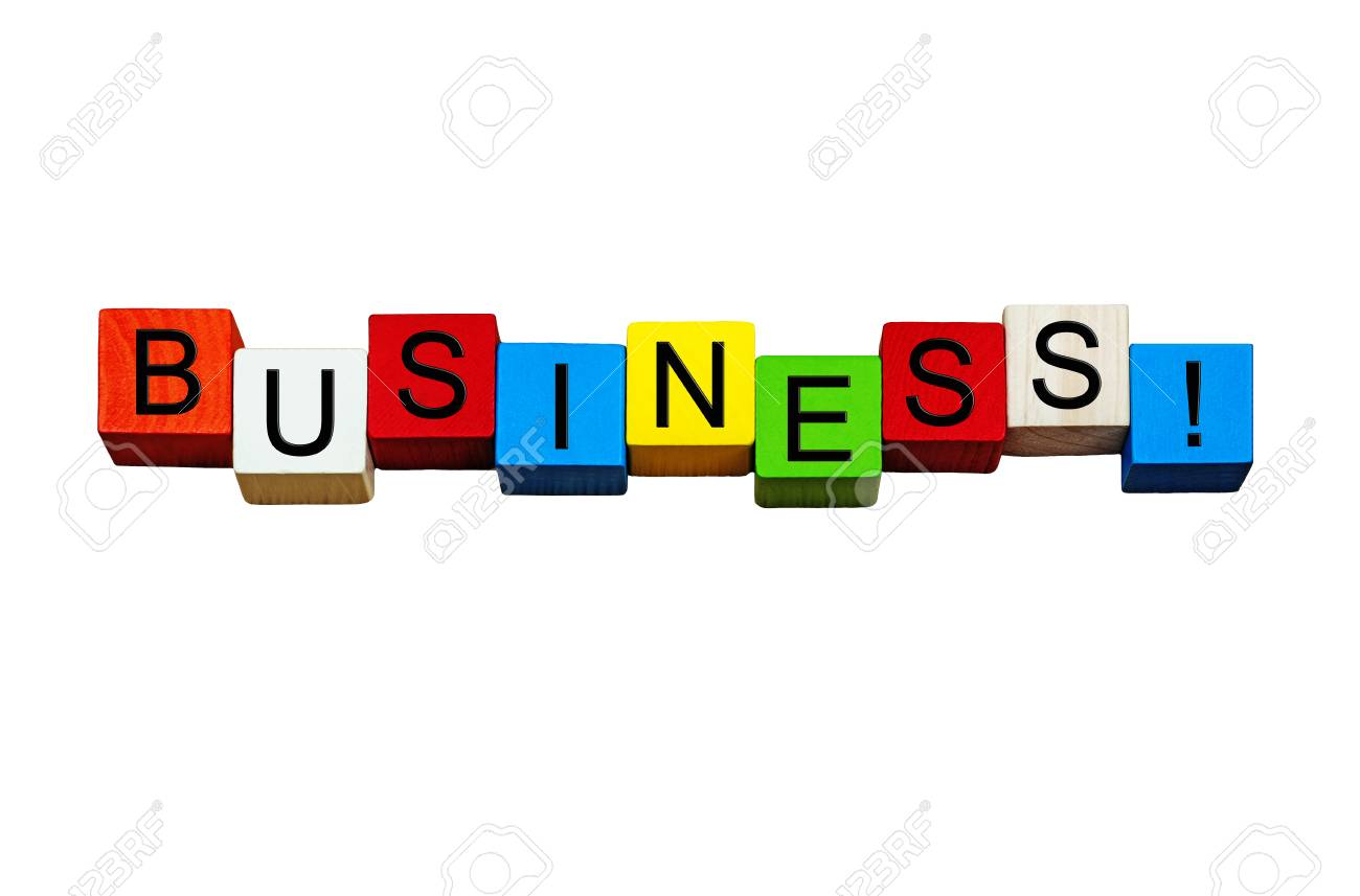 business word sign concept design for business themes
