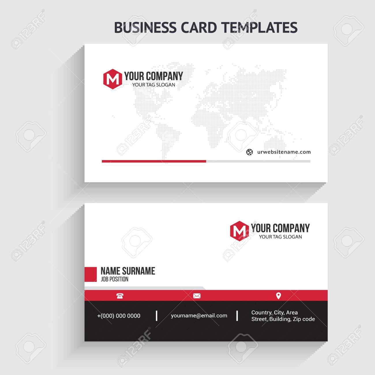 Modern Business Card Template. Stationery Design, Flat Design, Print Template, Vector illustration - 149444420
