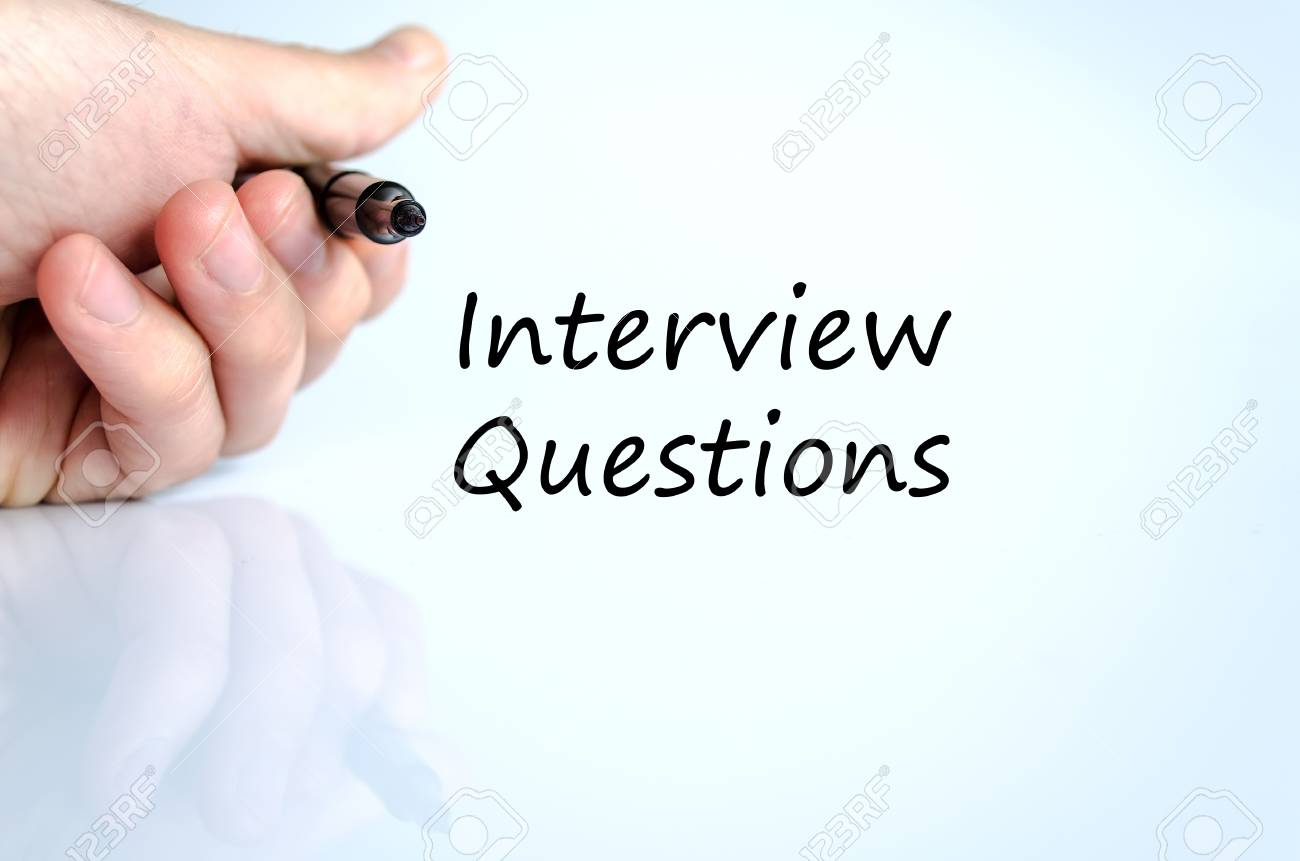 interview questions text concept isolated over white background interview questions text concept isolated over white background stock photo 51467987