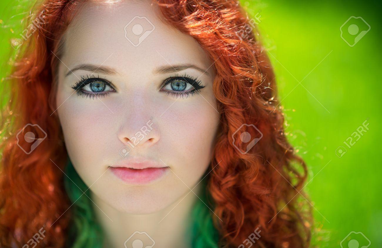 Free beautiful redhead