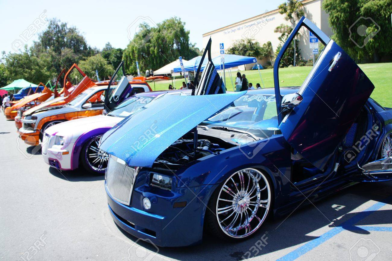 San Diego, California - August 28 2011 : Great Variety Of Modified ...
