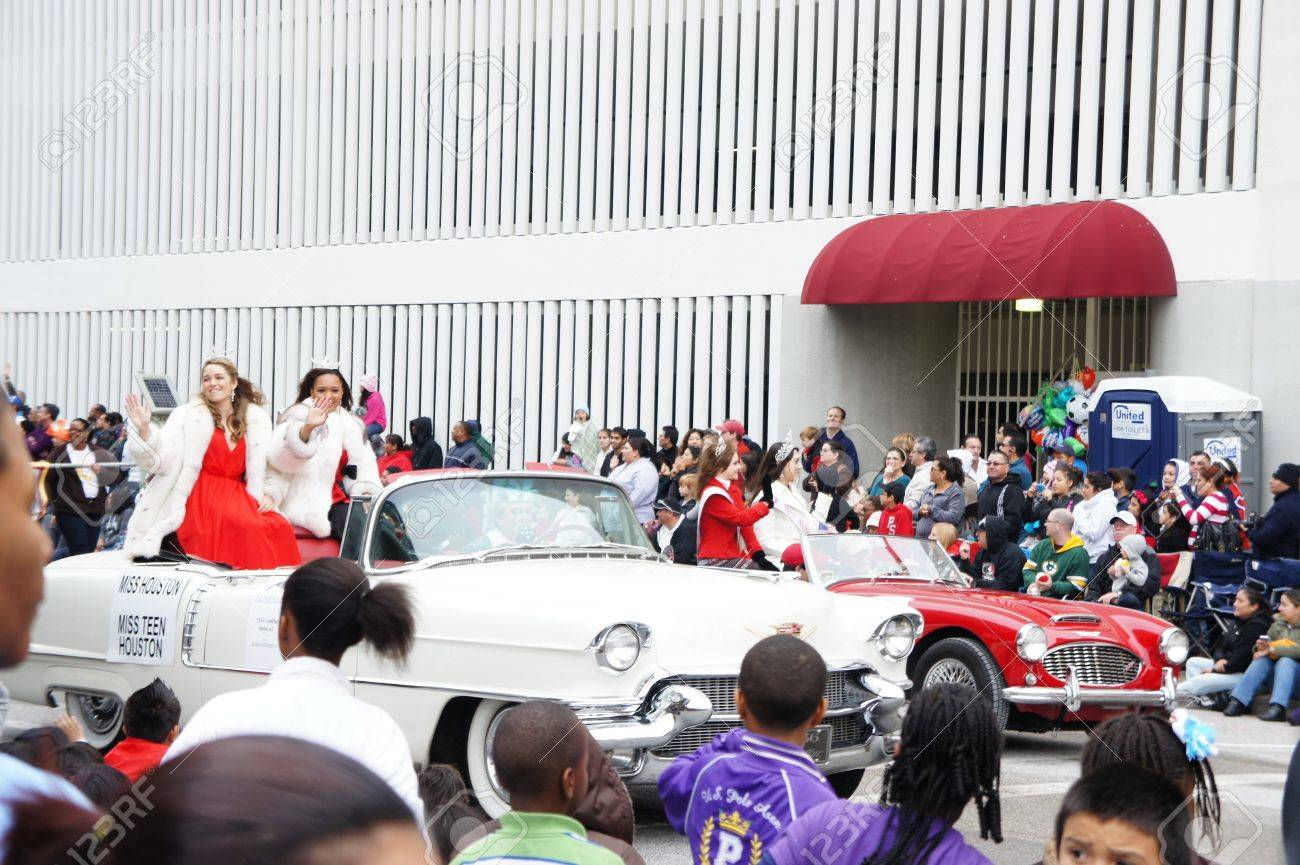 Houston, Texas - November 24, 2011 : The 62nd Annual Holiday