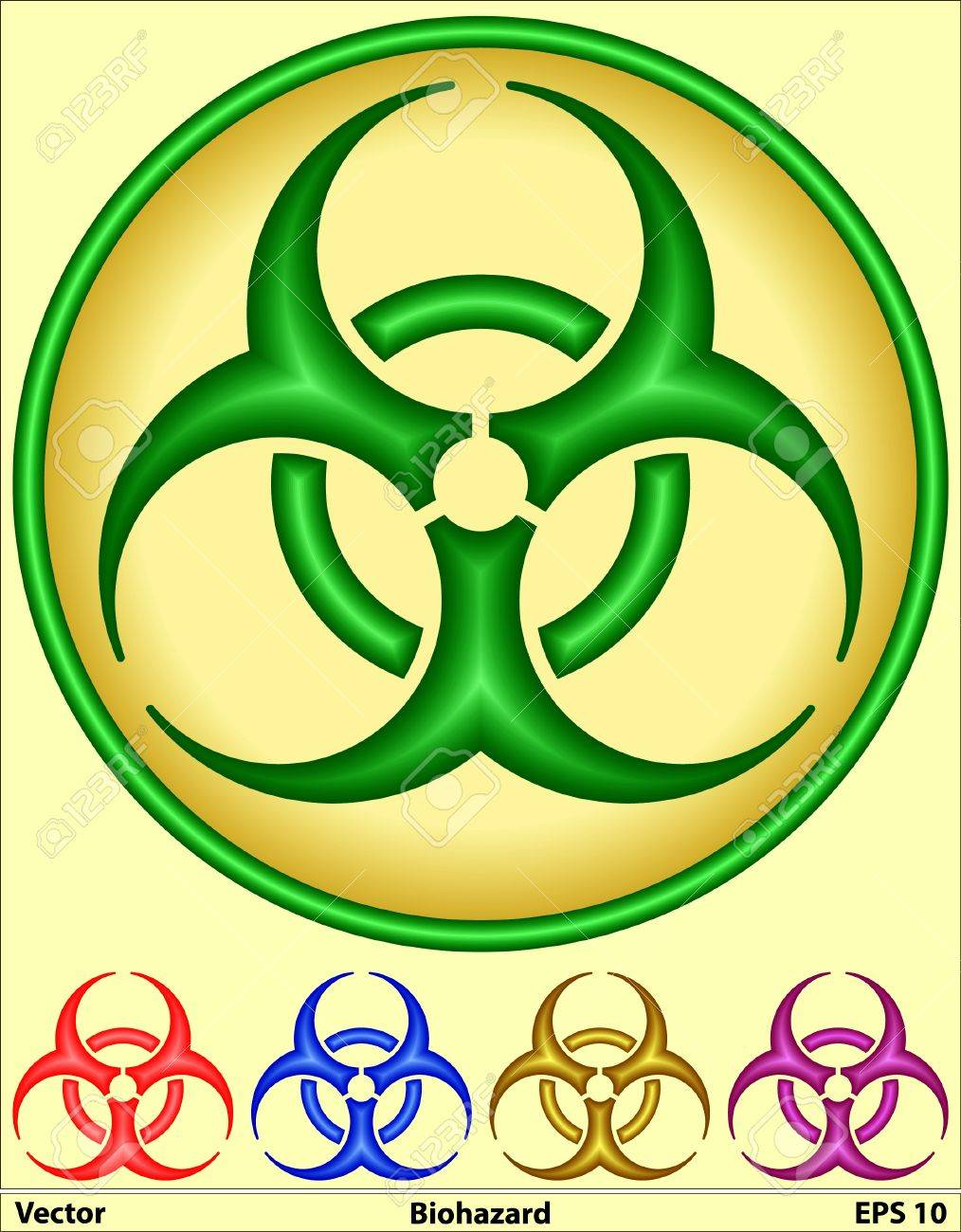 Medical Symbol - Bio hazard Stock Photo - 17095622