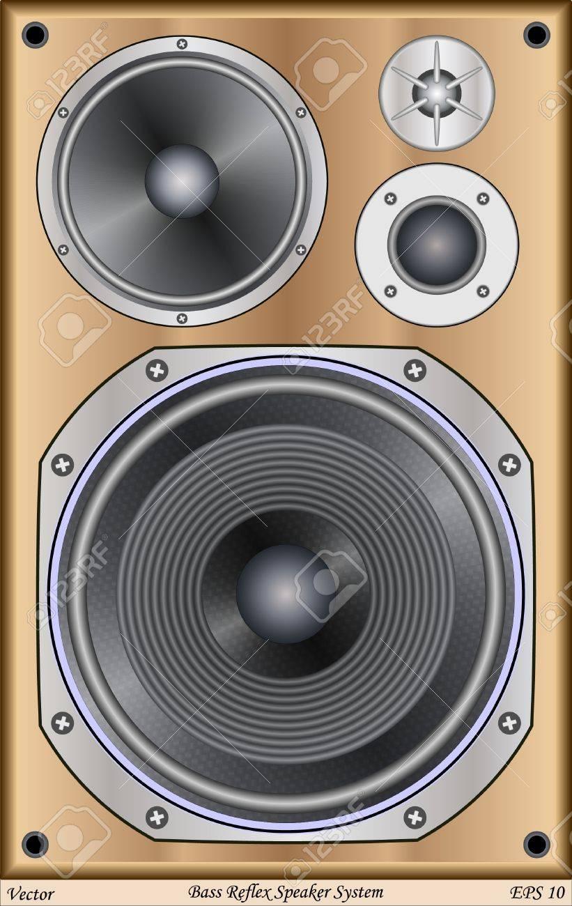 Bass Reflex Speaker System