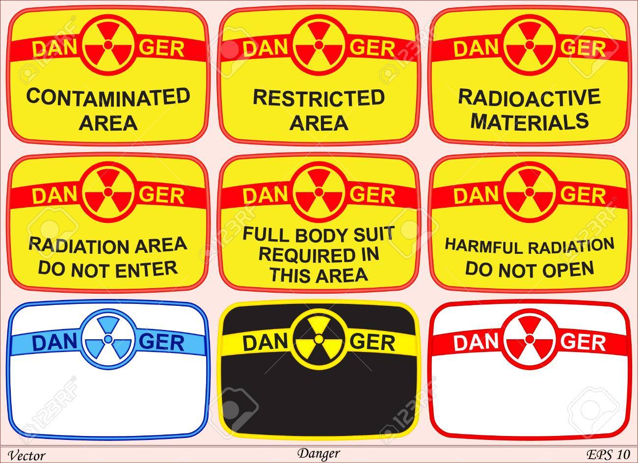 Danger Sign Stock Vector - 18147026