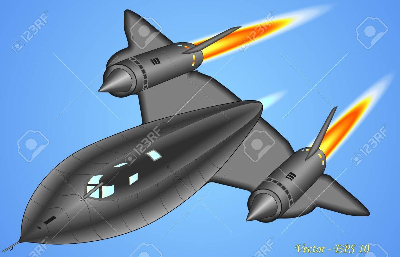 Blackbird jet Stock Vector - 19633458