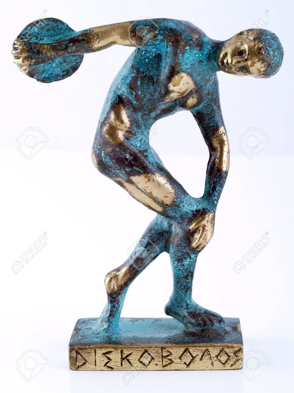 Discobolus statue souvenir. Stock Photo - 15907834