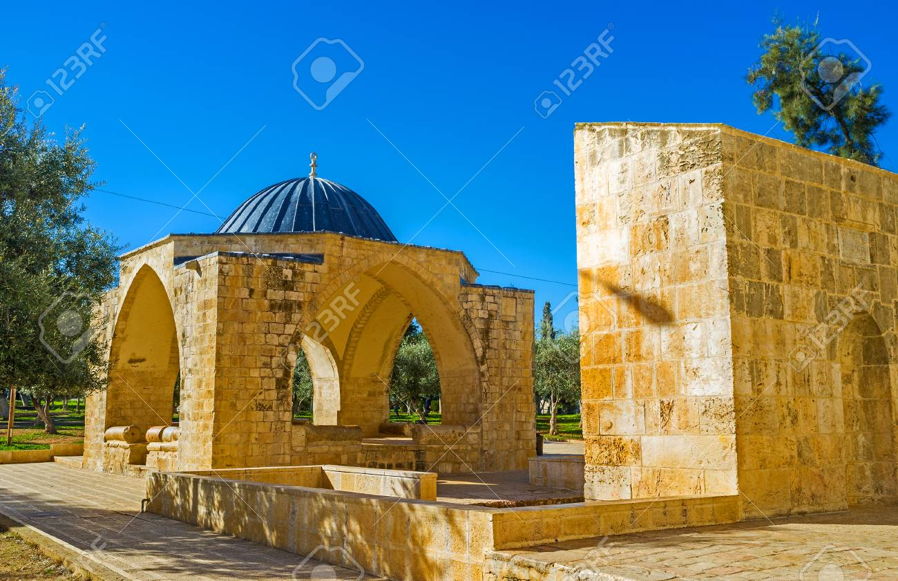 The Qubbet Suleiman Is One Of The Landmarks Of The Temple Mount