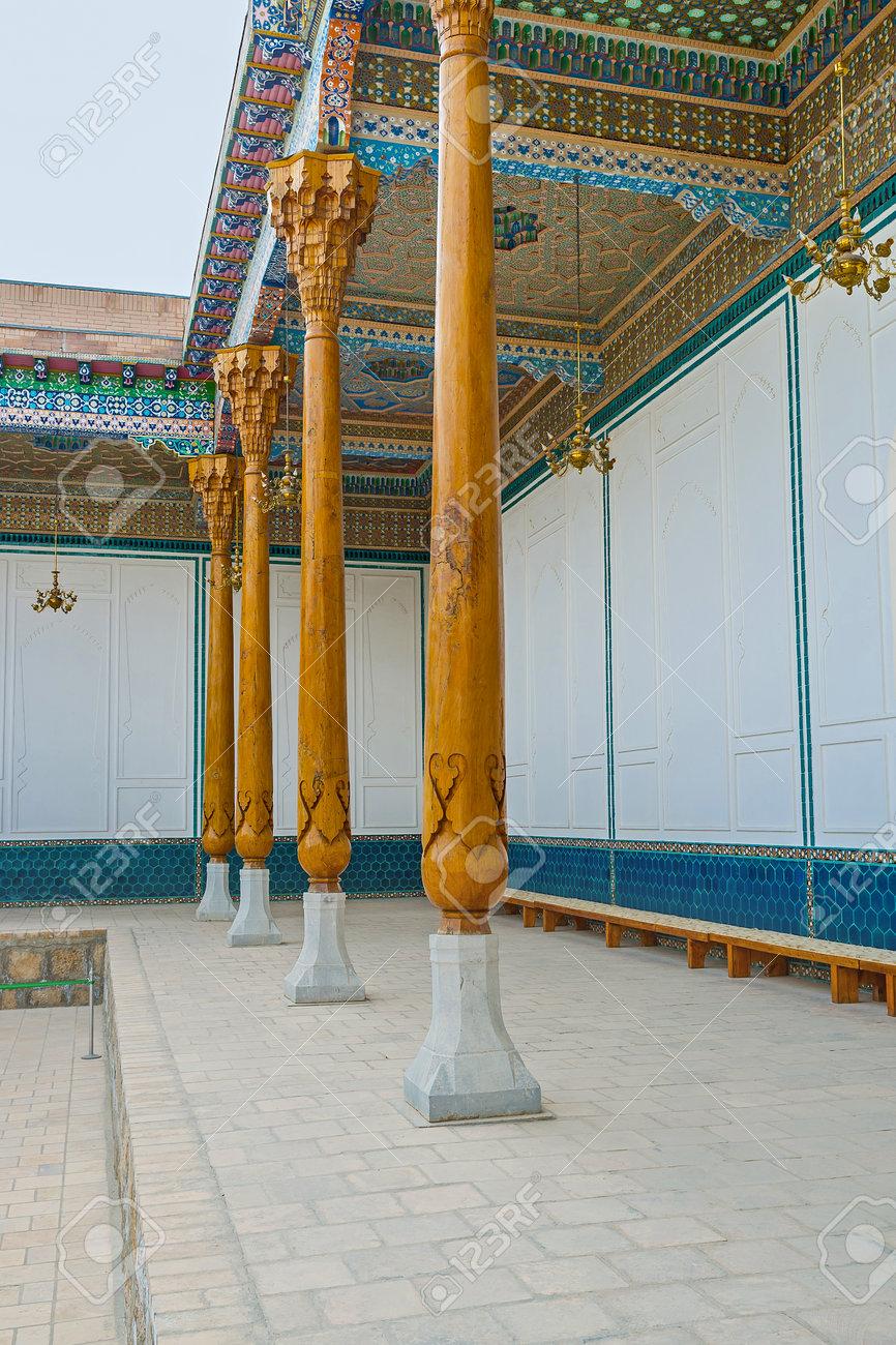 Die östlichen Traditionen Umfassen Die Anwendung Der Muster Nur An Der  Decke, Die Wände Müssen