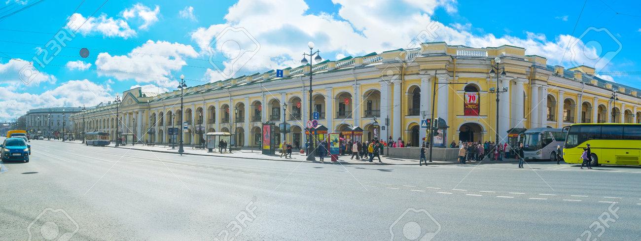 サンクトペテルブルク, ロシア連邦 , 2015 年 4 月 25 日 建物の偉大