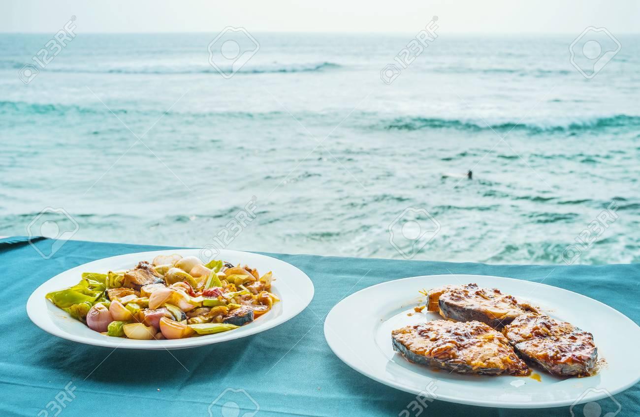 Die Küche Von Sri Lanka Ist Reich An Fischgerichten, Einschließlich ...