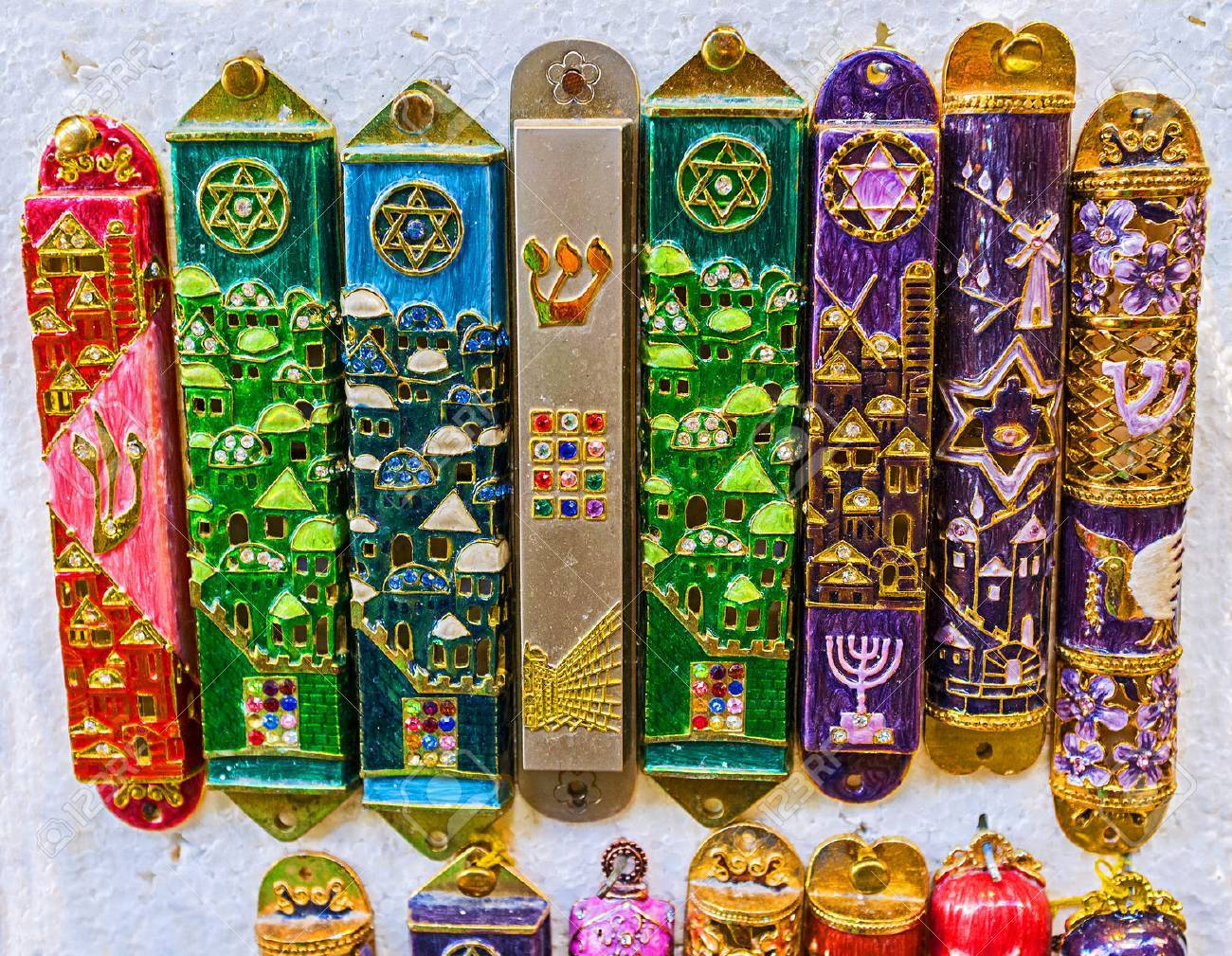 The mezuzah is affixed to the doorframe of homes in jewish culture the mezuzah is affixed to the doorframe of homes in jewish culture also popular as buycottarizona Images