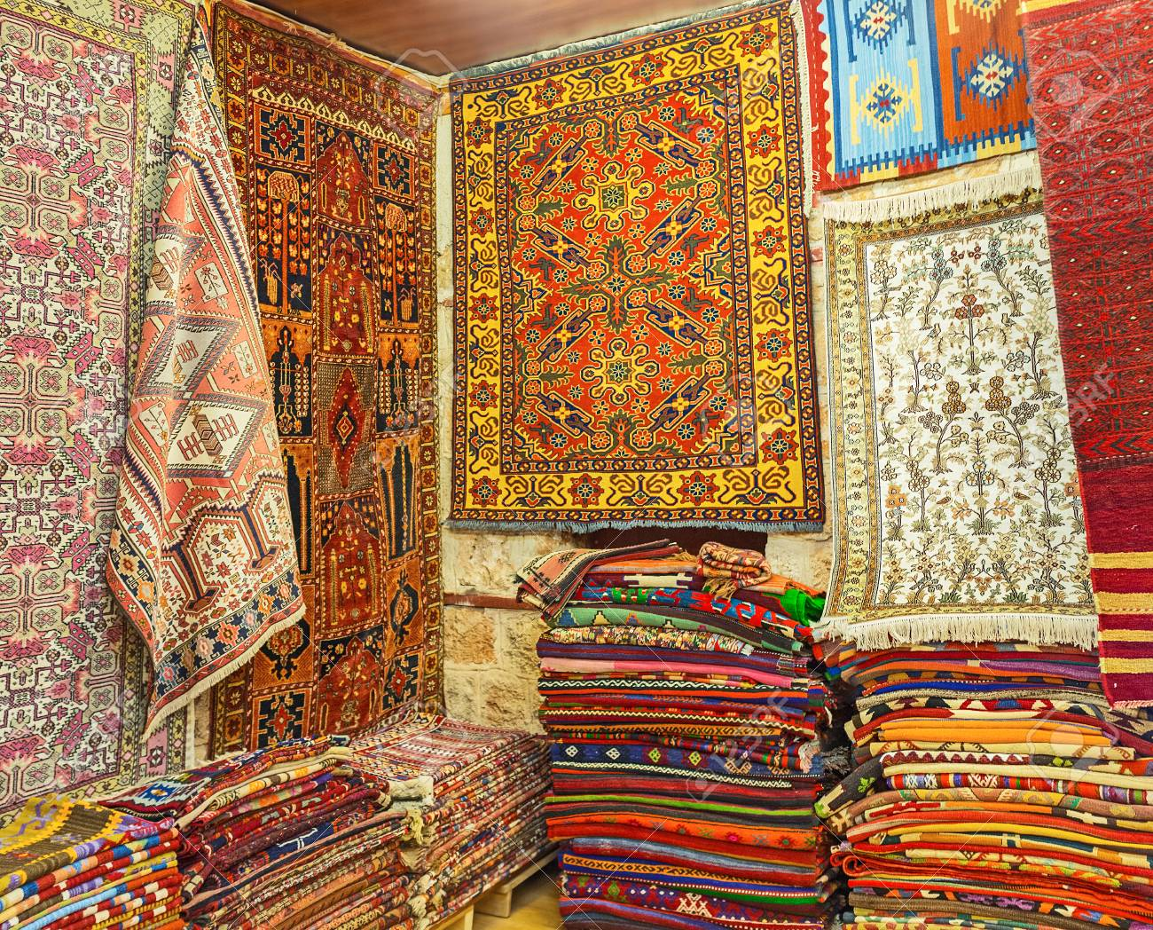 Carpets are traditional gifts from turkey the local stores offer wide range high quality