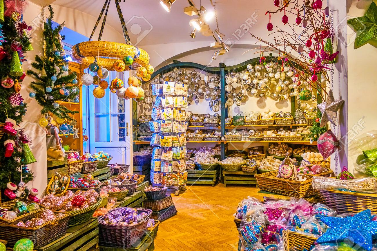 Christmas In Austria 2019.Salzburg Austria February 27 2019 The Christmas Shop Offers
