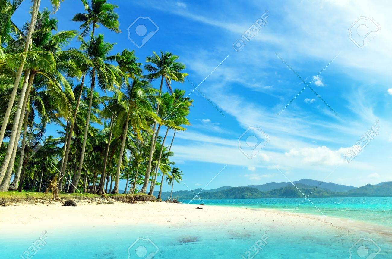 Beautiful seascape. Sky and sea. Stock Photo - 9990651