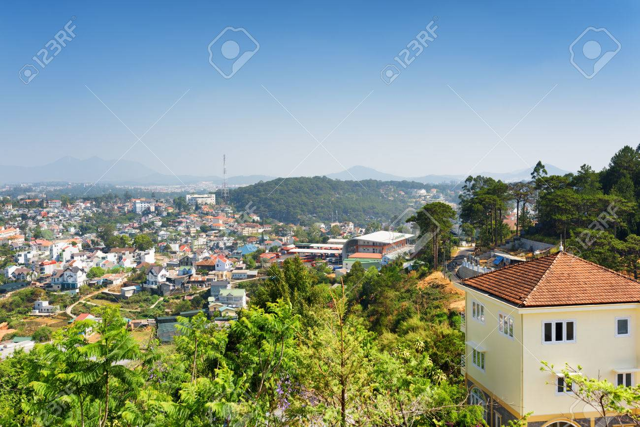 House With Tile Roof And A Beautiful View Of Da Lat City Dalat