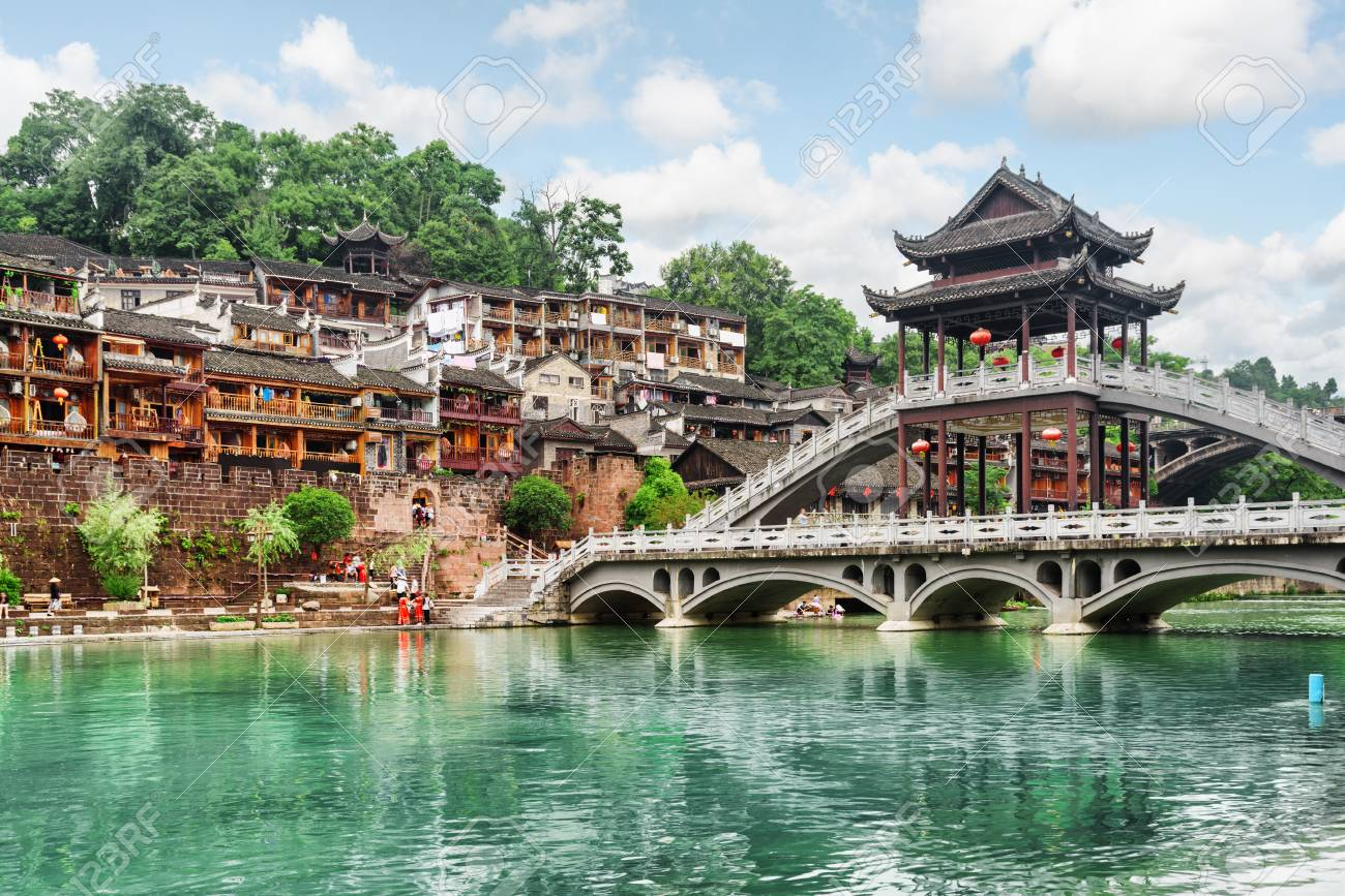 Asian architectual bridges