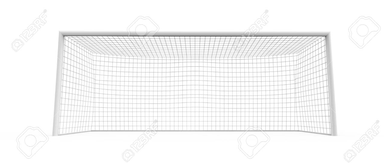 goal post, 3d modeled and rendered - 138645021