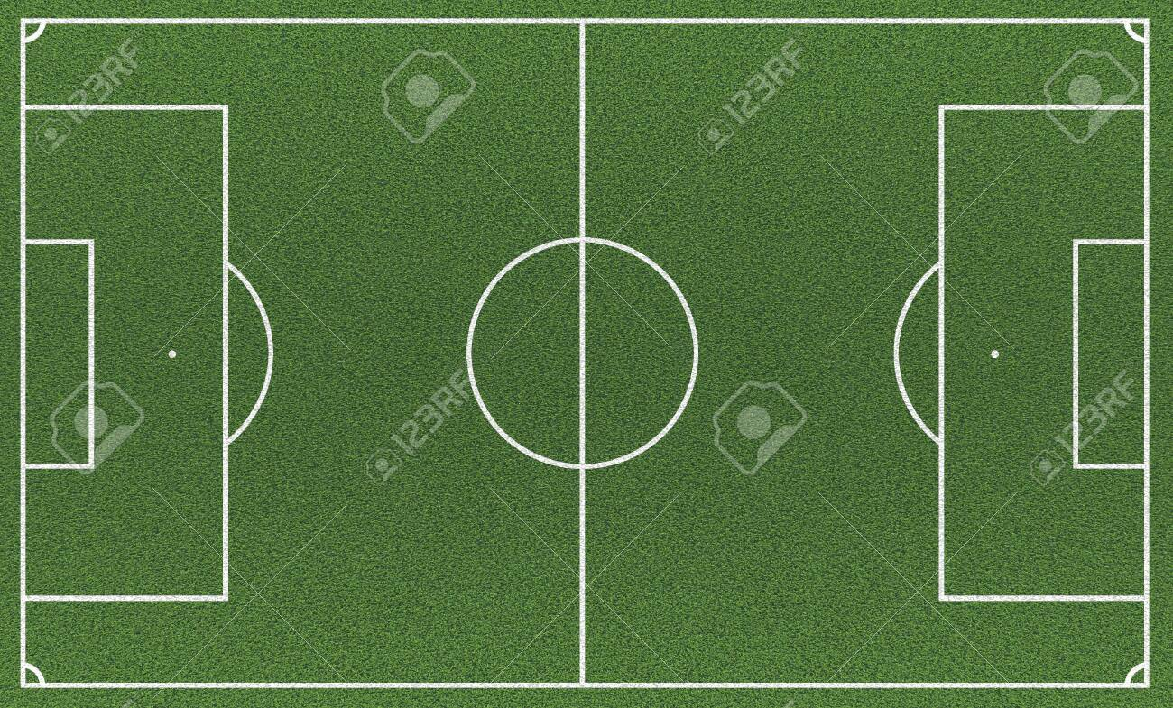 Football stadium field and grass, top view - 150159757