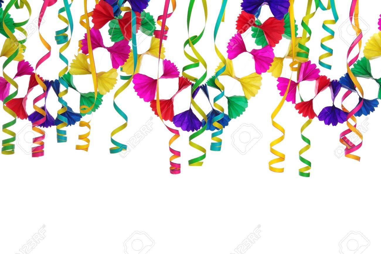 Party decoration isolated on white background - 12009382