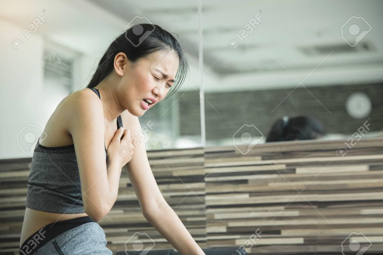 Asian ladies having