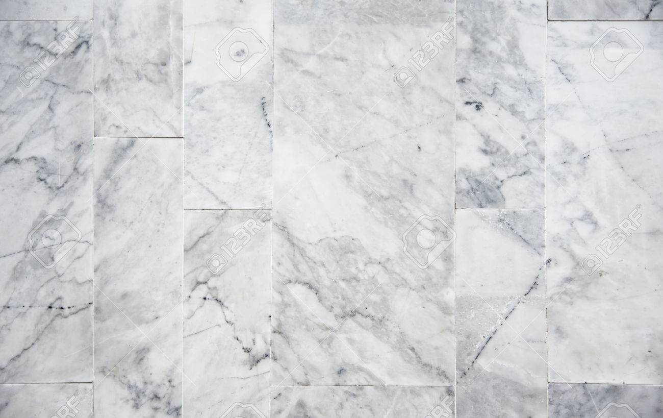 White Marble Tile Background With Random Pattern. Stock Photo ...
