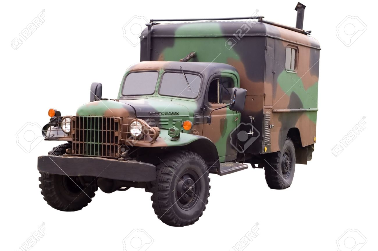 Military Old Dodge Power Wagon Stock Photo Picture And Royalty Free 1985455