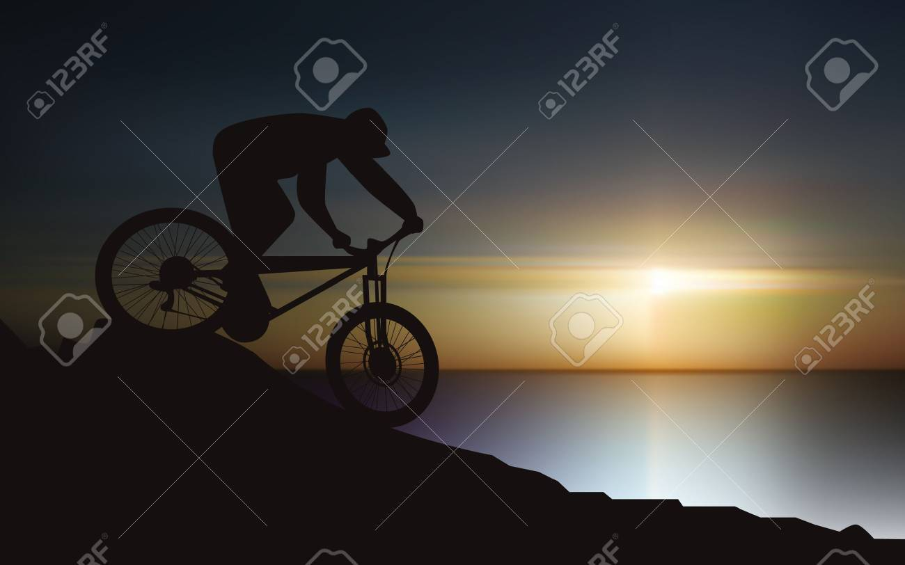 Cyclists Stock Vector - 12483948