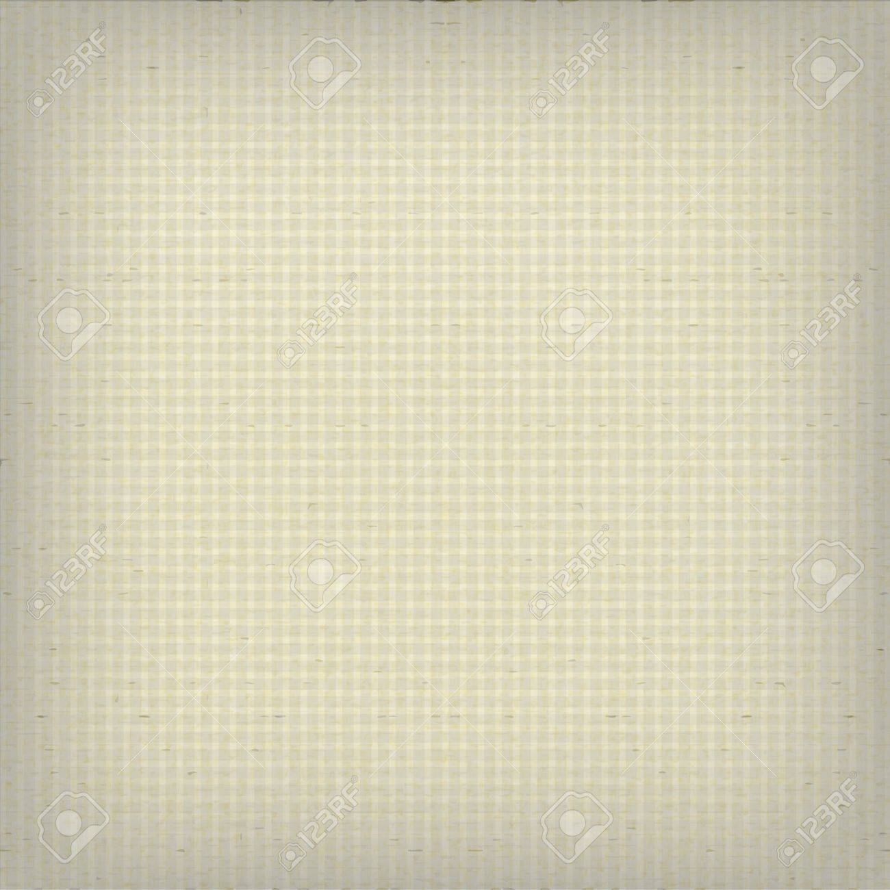 Textured old squared paper Stock Vector - 17607367