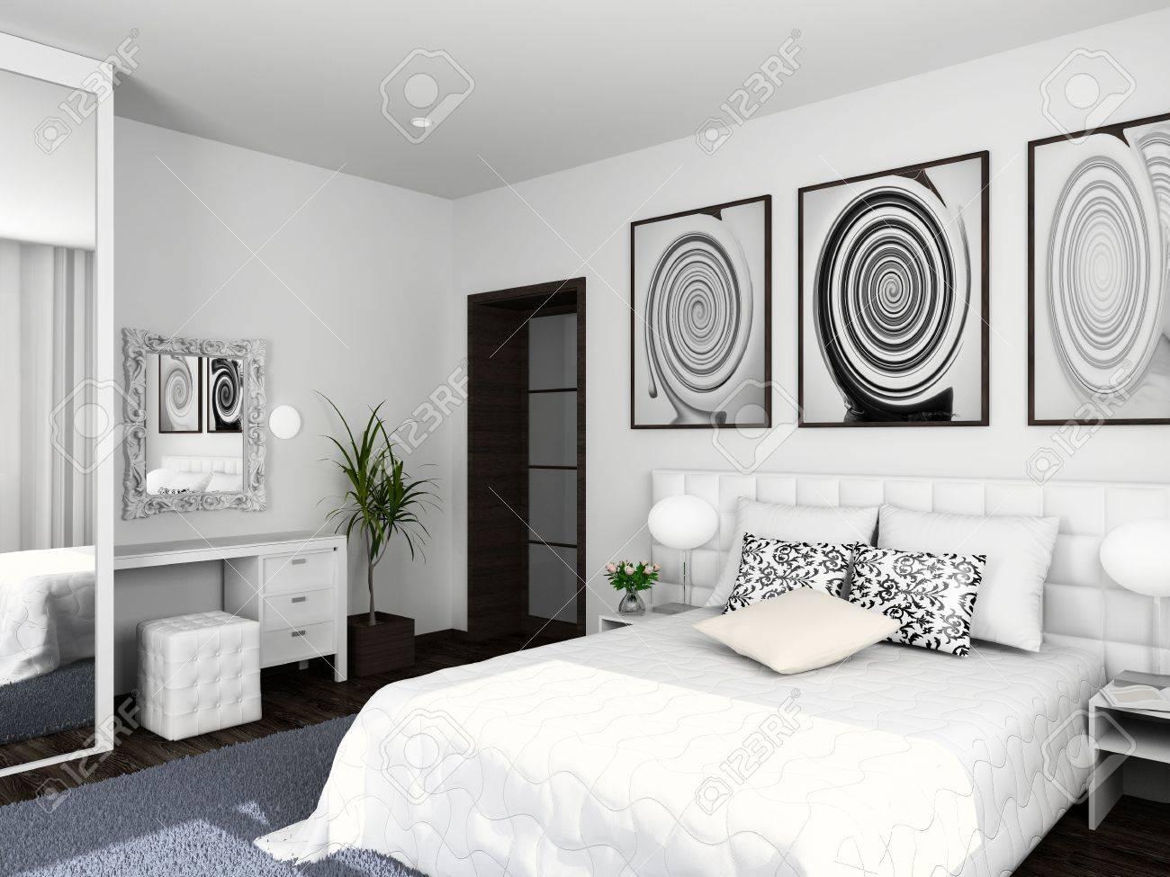 Innenausstattung Schlafzimmer