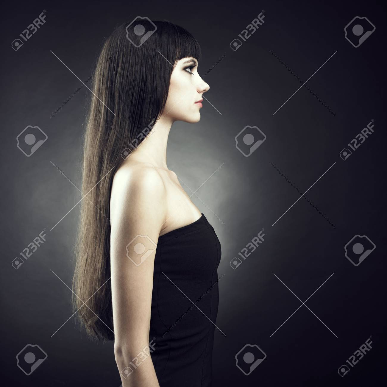 Photo of beautiful woman with magnificent hair Stock Photo - 7706038