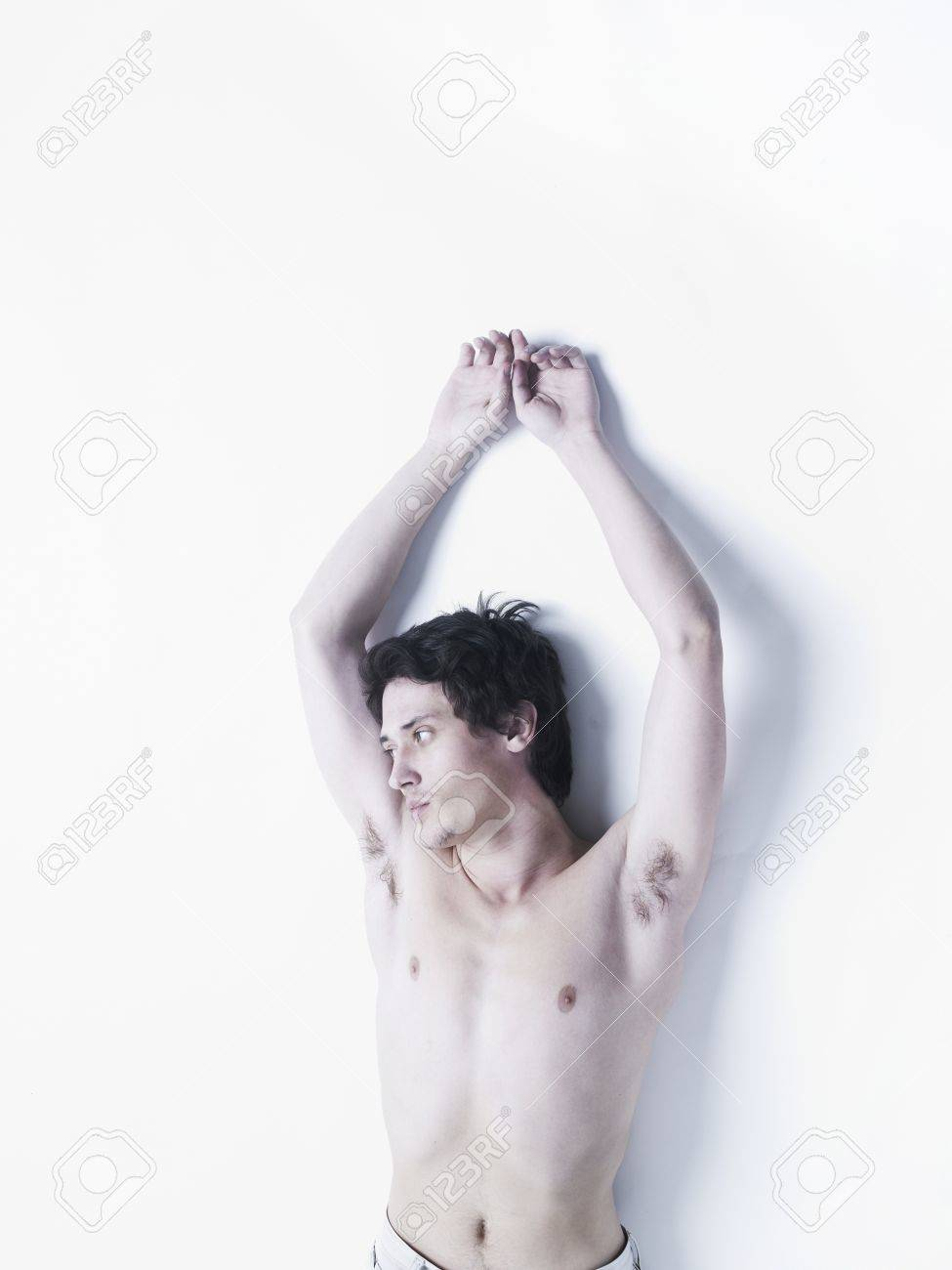Photo of young naked men with beautiful torso Stock Photo - 8945562
