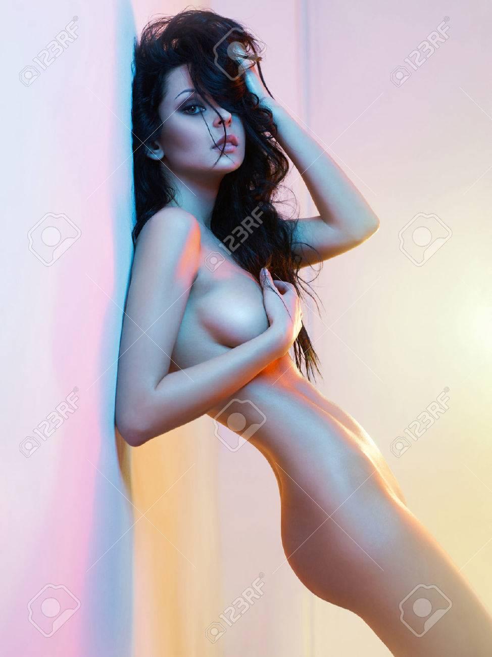 Elegant nude woman