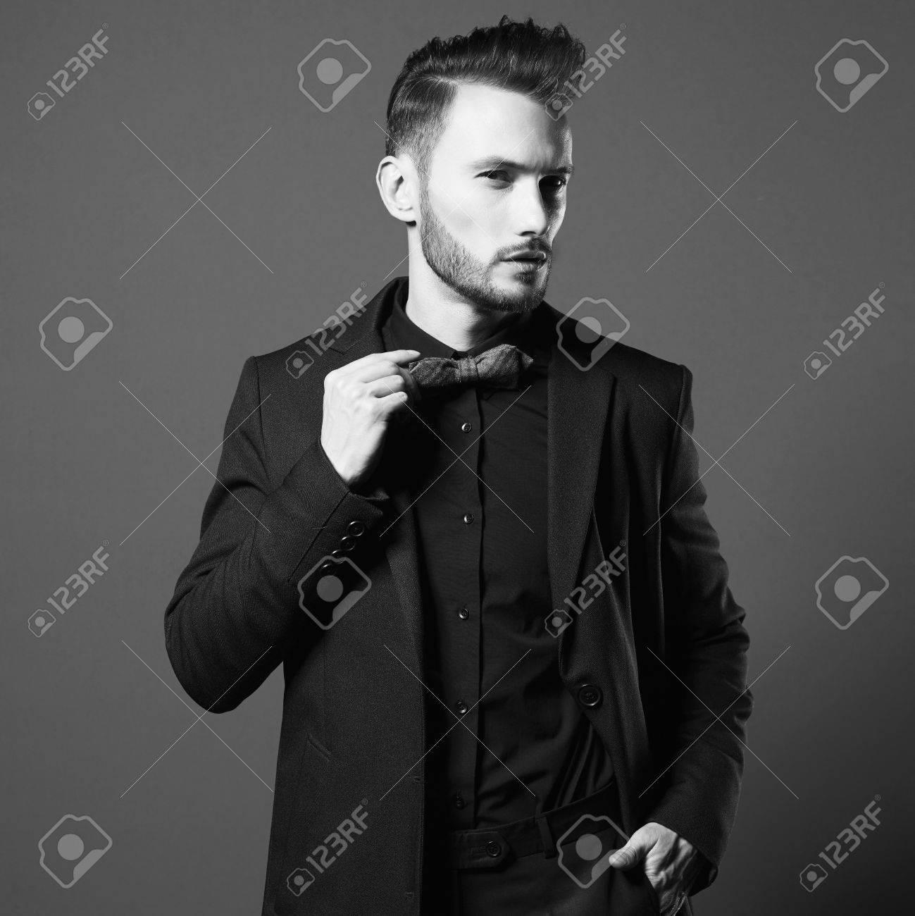 Otoño Hombre Retrato Y Guapo Elegante De Abrigo Elegante En El De ZvvqTwBn15