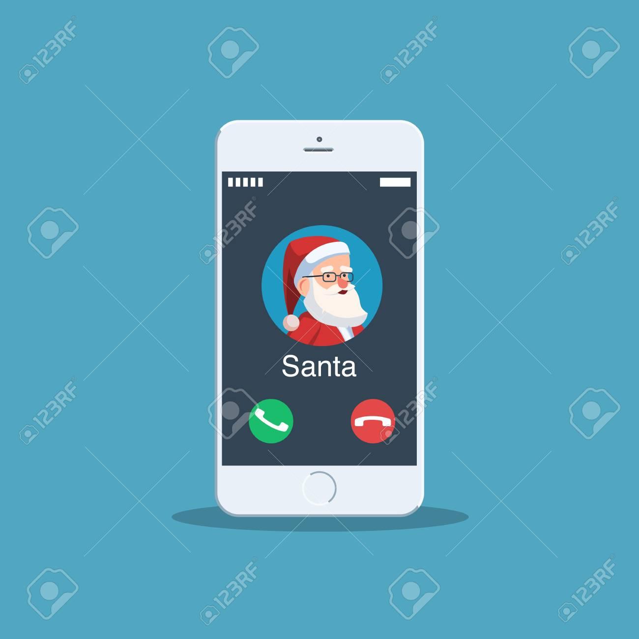 Christmas Call From Santa Claus Avatar Santa On Your Phone Screen