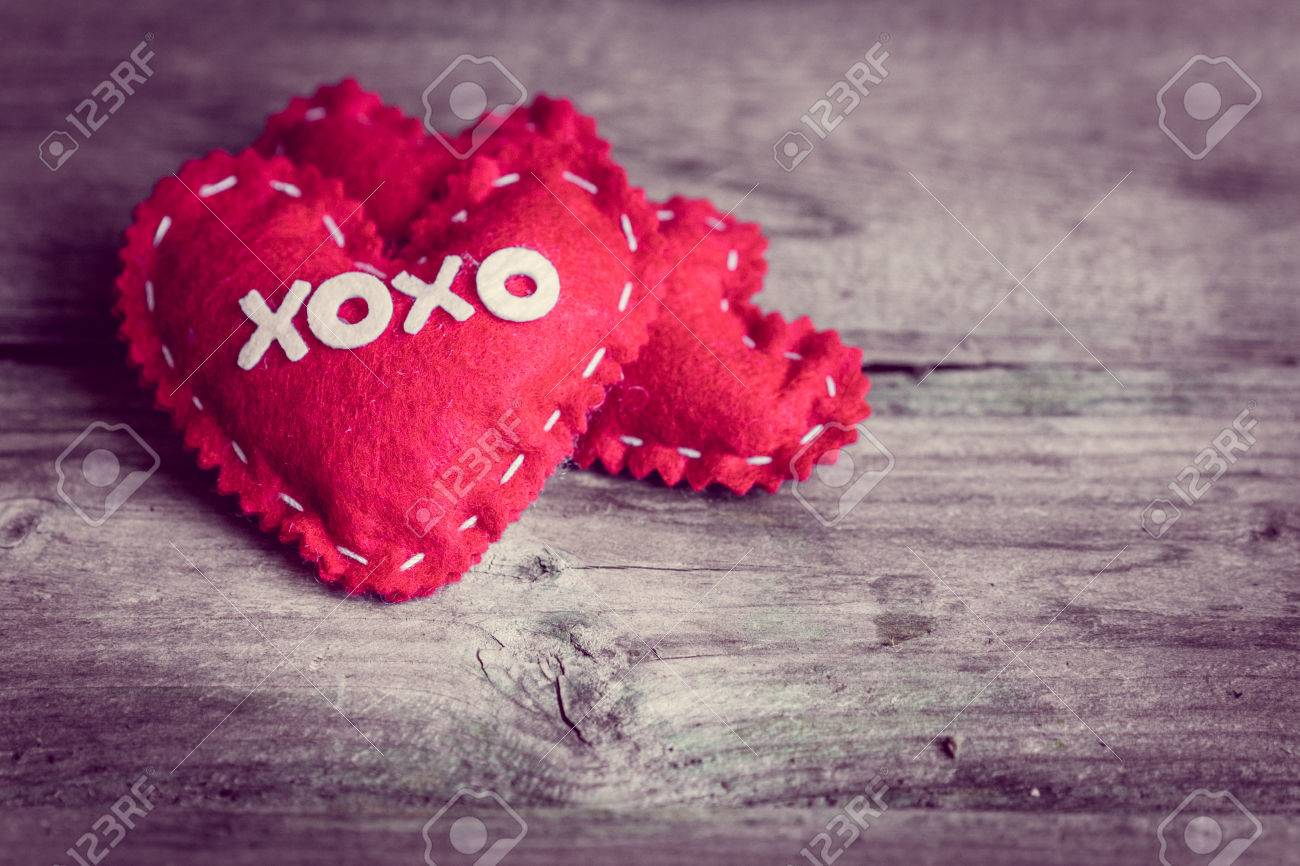 Valentines Day Ornaments Stock Photo Picture And Royalty Free Image