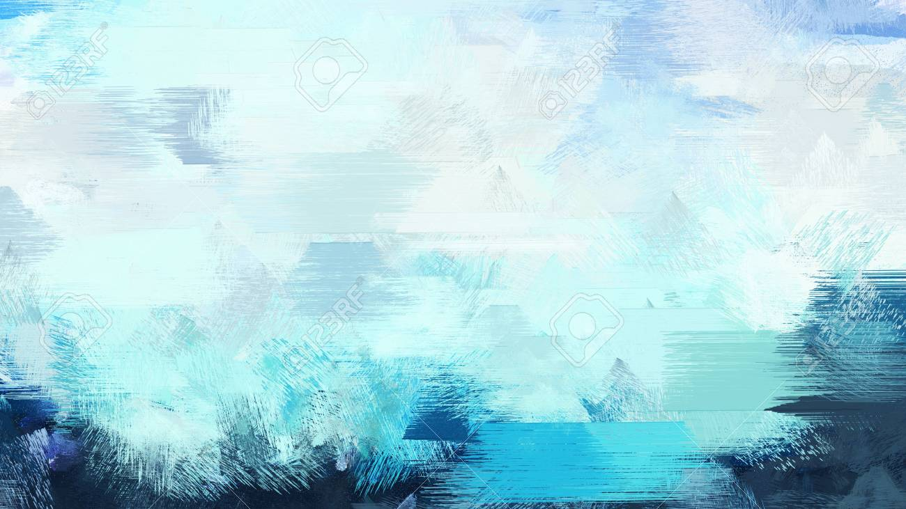 Light Cyan Dark Slate Gray And Medium Turquoise Color Painted Vintage Background Brush Strokes Illustration Can Be Used For Wallpaper Cards Poster