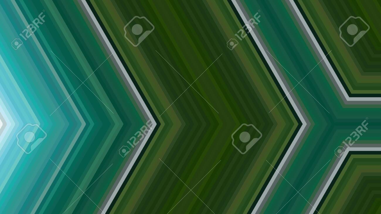 Abstract Dark Green Background Geometric Arrow Illustration For Banner Digital Printing Postcards Or Wallpaper Concept Design