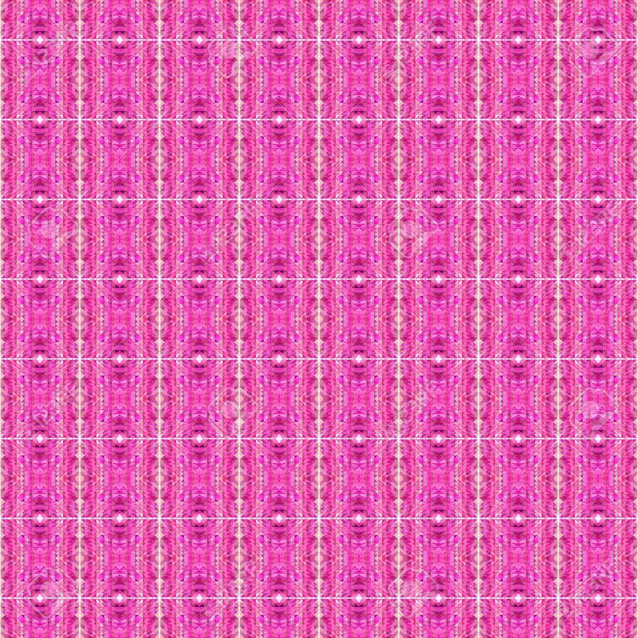 Seamless Pattern Design With Mulberry Neon Fuchsia And Pastel