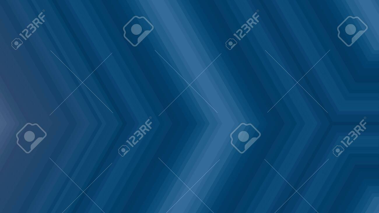 Abstract Blue Background Geometric Arrow Illustration For Banner Digital Printing Postcards Or Wallpaper Concept Design