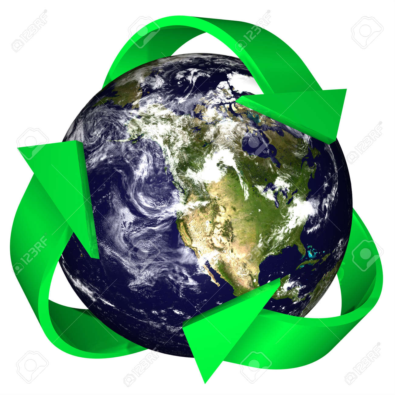 3d rendering of the earth with the recycling symbol of arrows 3d rendering of the earth with the recycling symbol of arrows surrounding it earth and biocorpaavc Gallery