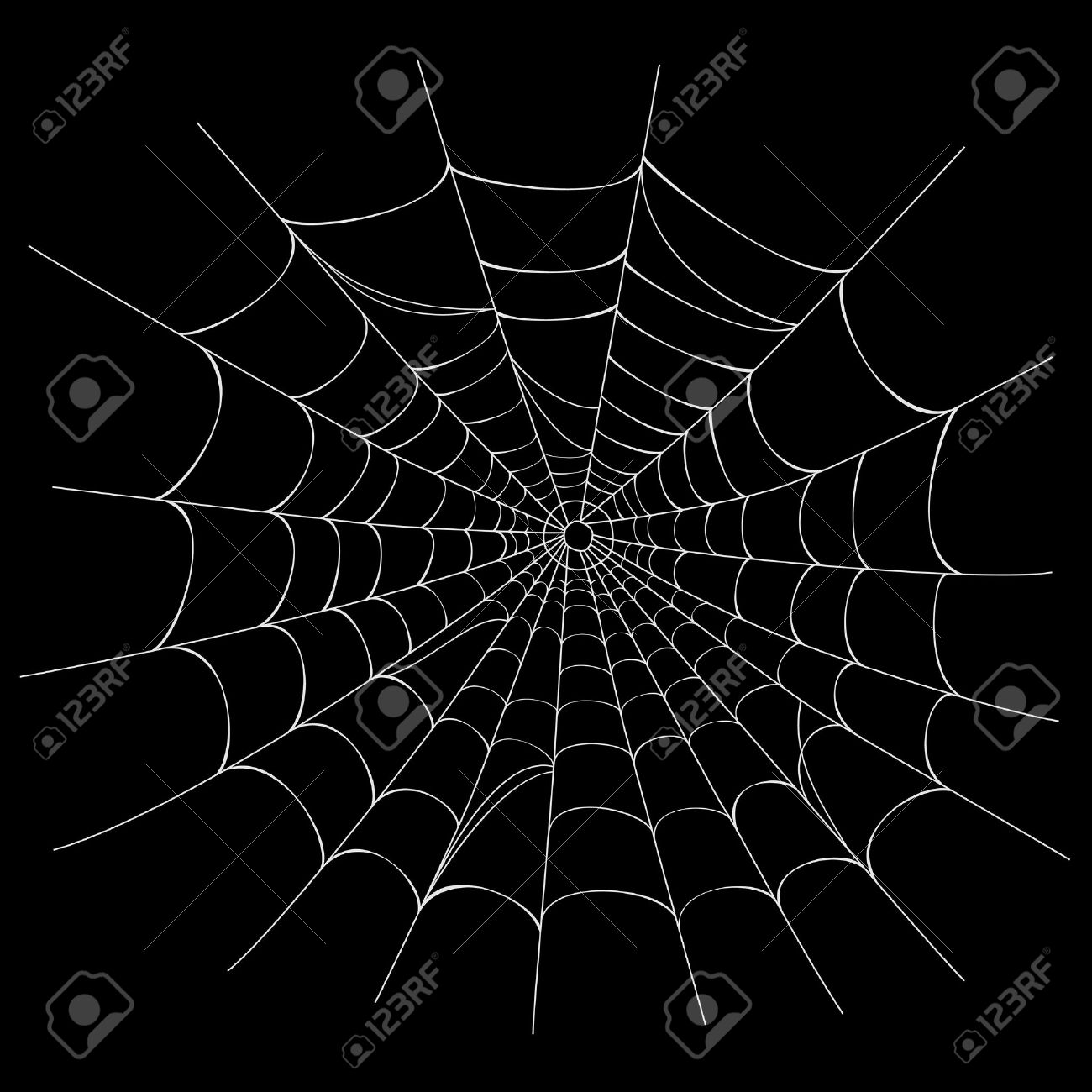 Background image effects - Creepy Spider Web Over Black Background Ai 8 No Effects Easy Printing