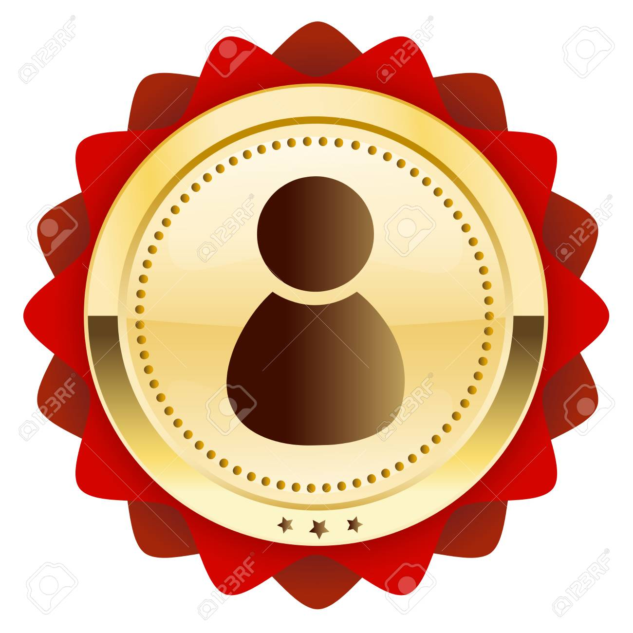 Admin Or best service seal or icon with admin or person symbol. glossy..
