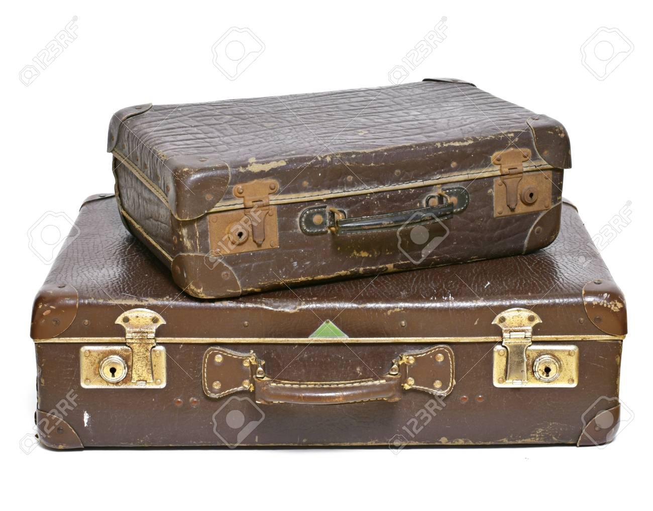 old suitcase travel item luggage or baggage vintage suitcase