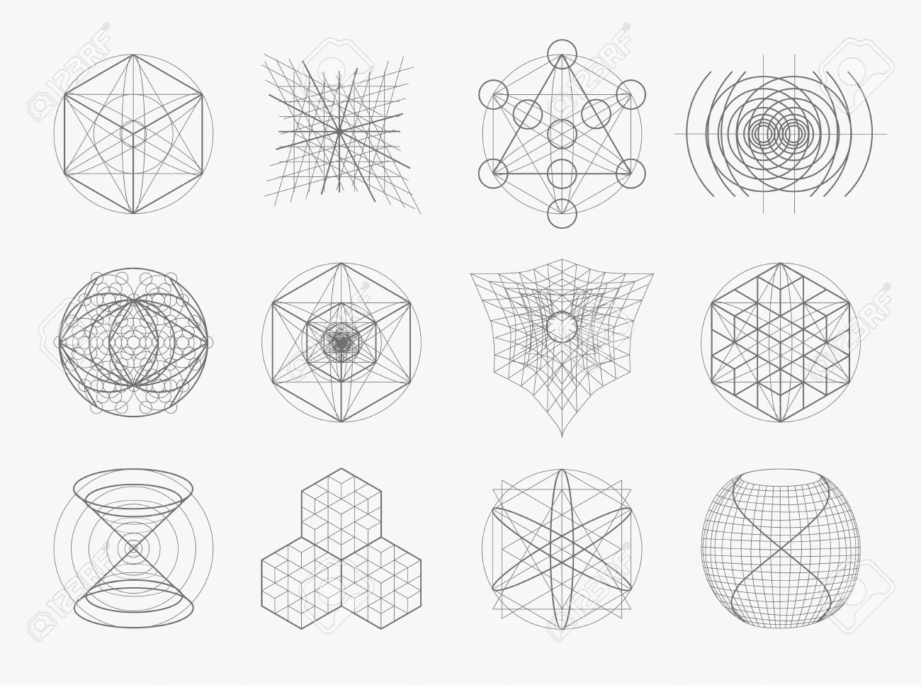 Sacred geometry symbols and elements set 12 in 1 alchemy sacred geometry symbols and elements set 12 in 1 alchemy religion philosophy biocorpaavc