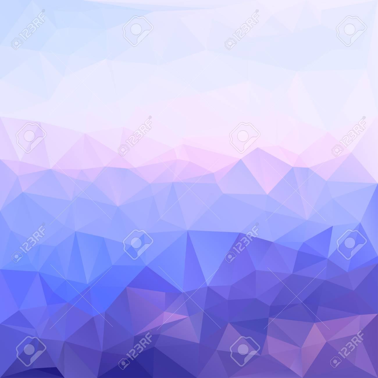 Paisaje De Fondo De Geometría Abstracta De Mosaico Poligonal En ...