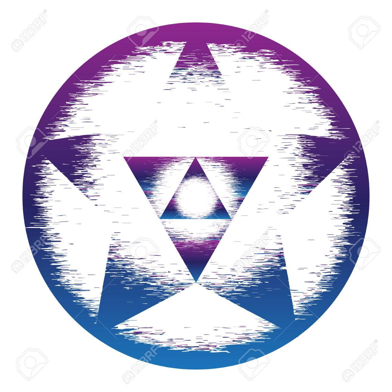 Heilige Geometrie Symbol Mandala Geheimnis Element Verwendet Für